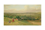 Cheltenham from Leckhampton Hill  c1840