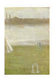 Japanese Figures on Chelsea Embankment  1870-79
