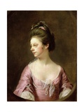 Portrait of Mrs Catherine Swindell  1769-72