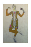 Costume Design for Nijinsky in 'Le Festin'  1909