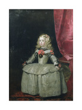 Portrait of the Infanta Margarita Teresa of Spain (1651-73) Daughter of Philip IV  c1656