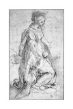 Study for the Figure of the Virgin