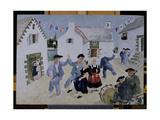 Dancing Sailors  Brittany  1930