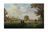 Game of Cricket  c1790