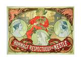 Hommage Respectueux De Nestle  1897