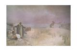 Jan Amos Komensky (1592-1670)  from the 'Slav Epic'  1918