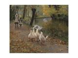 Goose Girls  1885