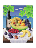 Still Life with Fruit and Wine  1993
