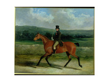 William Ward on Horseback  1839