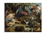 Hunting a Wild Boar  c1615-16