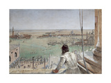The Basin of San Marco from the Campanile  Venice  1862