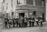 Woodbridge Post Office and Staff  Suffolk  1912