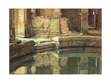 The Roman Circular Bath at Bath