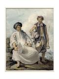 Mandarin with Pipe Bearer  1795