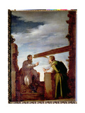The Parable of the Mote and the Beam  c1620