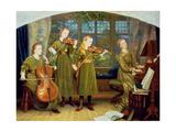 The Home Quartet: Mrs Vernon Lushington and Her Children  1883
