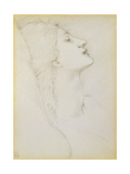 Study for Venus in 'Laus Veneris'  1878