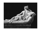 Pauline Bonaparte  Princess Borghese as Venus Triumphant  Rear View  c1805-08