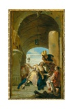 The Martyrdom of Saint Theodora  1745