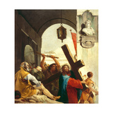 Christ Carrying the Cross  Stations of the Cross  1747