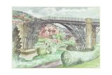 Ironbridge  Shropshire  c1960