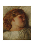The Sleeping Child - a Granddaughter  c1896