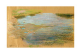 Study of a Pool for 'Hagar and Ishmael'  c1911