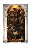 Vision of San Roch  Sala Superiore c1570