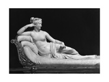 Pauline Bonaparte  Princess Borghese as Venus Triumphant  c1805-08