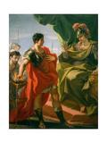 Gaius Mucius Scaevola before Porsena  c1721-22