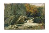 The Waterfall  1870-75