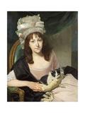 Portrait of Sophia Dumergue  c1780