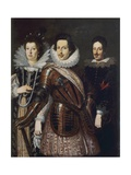 Portrait of Marie Madeleine of Austria  Cosimo II and Ferdinand II De Medici  c1640