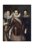 Portrait of Marie Madeleine of Austria  Cosimo II and Ferdinand II De Medici  c1640