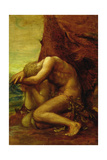 Adam and Eve  c1865