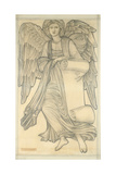 Angel with Scroll - Figure Number Nine  1880