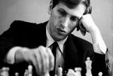 Bobby Fischer Plastic Sign