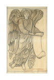 Angel with Scroll - Figure Number Six  1880