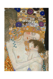 The Three Ages of Woman, 1905 (Detail) Reproduction d'art par Gustav Klimt