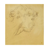Study for the Head of Orpheus