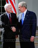 Historical - George W Bush  John McCain Photo