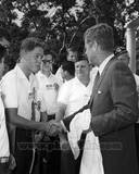 Historical - John F Kennedy  Bill Clinton Photo
