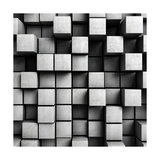 Abstract Background From Concrete Cubes
