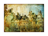 Usse - Fairy Castle Loire' Valley- Picture In Painting Style