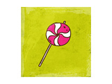 Spiral Lollipop Sweet Candy