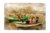 Boats - Artistic Retro Styled Picture