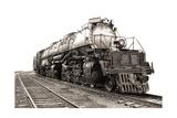 Vintage Steam Engine Railroad Train Locomotive