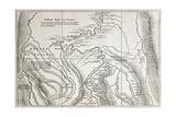 Old Map Of Campa Indians (Ashaninka) Territory  Peru