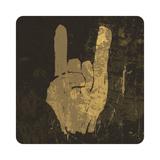 """Grunge """"Rock On"""" Gesture"""