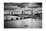 London  The Uk Big Ben  The Palace Of Westminster In Black And White The Icon Of England